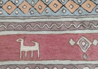 Kilim Style Rug and Pillows KSR122120