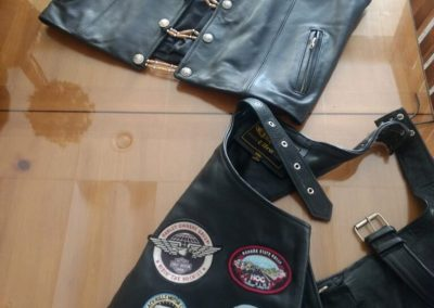 Unik XXL Black Leather Chaps TLV122120