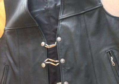 Tribe Leather Vest TLV122120