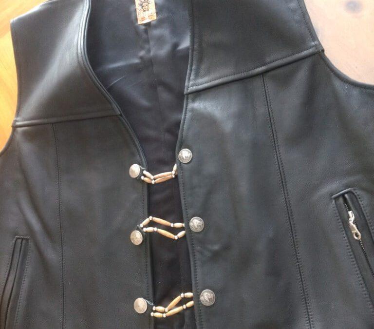 Tribe Leather Vest 12-21-20